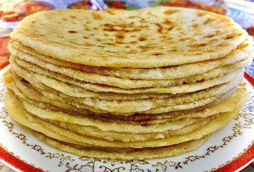 Indian Sweet Flatbread