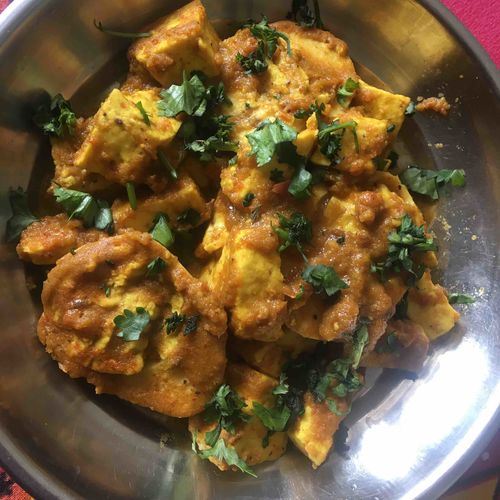 Paneer Egg Curry