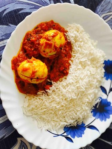 Egg Curry with Kasturi Methi