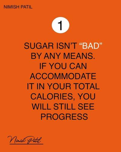 Is sugar really the main culprit behind weight gain?