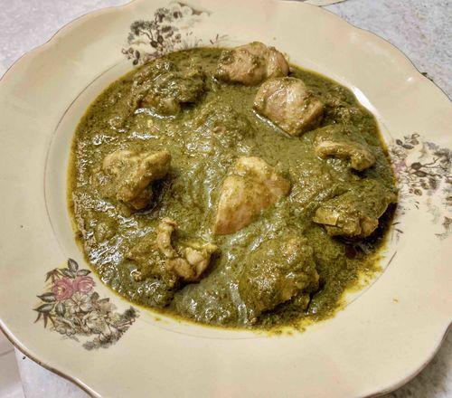 Chicken saag walla!