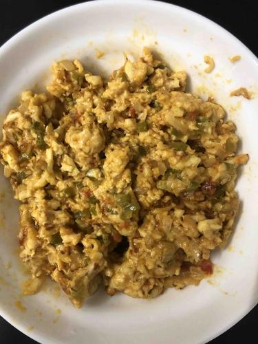 Paneer cheese bhurji