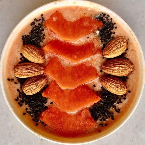 Papaya Oatmeal