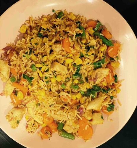 Chicken-Corn Rice