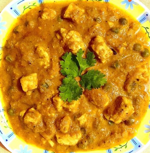 Paneer-Peas Curry