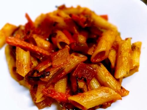 Paneer Red sauce Pasta