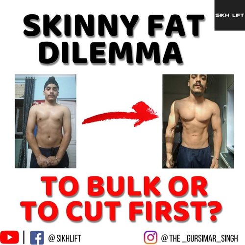 How to approach skinny fat condition to bulk or to cut first?