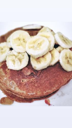 Soya and Oats pancakes