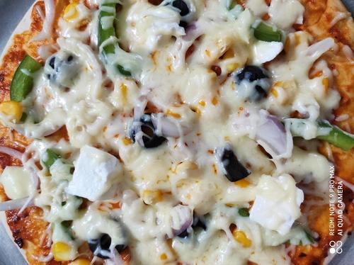 Veg Pan Pizza 🍕