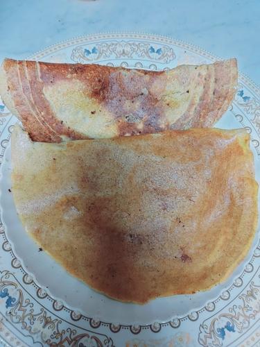 Wheat flour pan cake