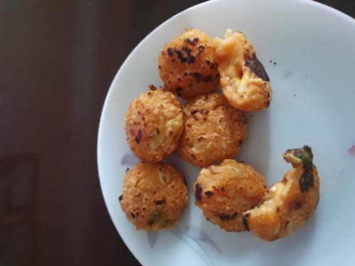 poha and potato roll