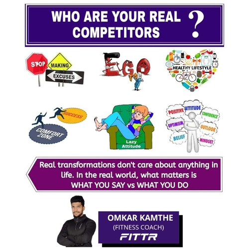 WHO ARE YOUR REAL COMPETITORS ?