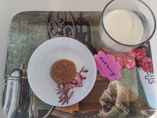 No bake almond butter oatmeal cookie, Whey protein