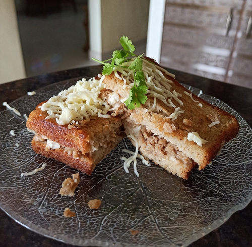 Soya Paneer Sandwich