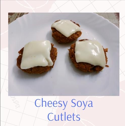 Cheesy Soya Cutlets!