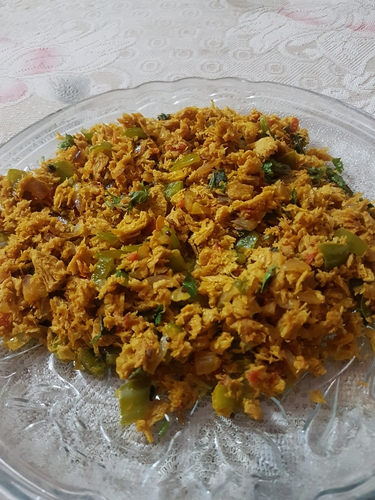 Easy High protein Soya Bhurji
