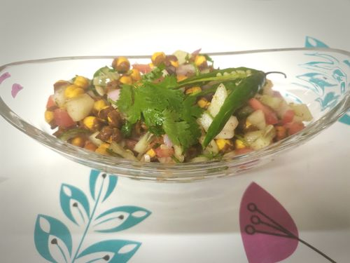 Roasted Channa Chaat