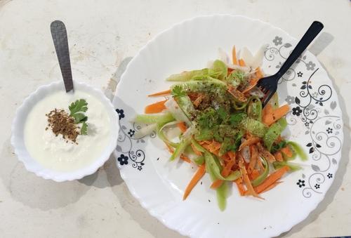 no cook salad