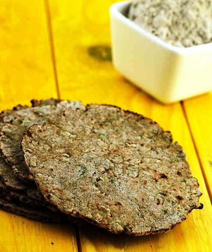 Bajra and Cauliflower Roti