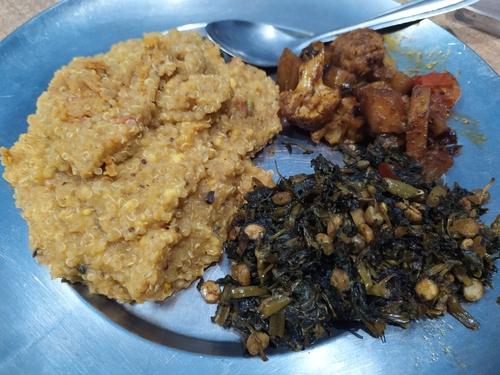 Quinoa in Kadhi