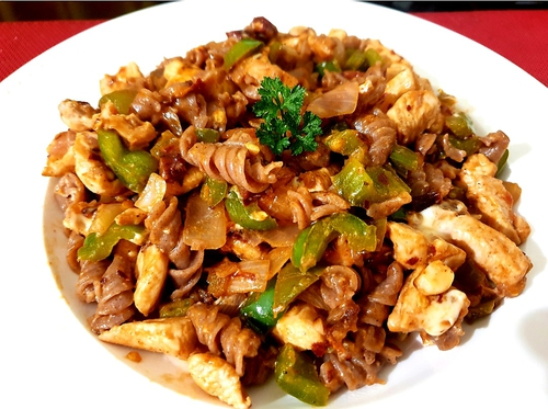 Ragi Pasta - Chicken