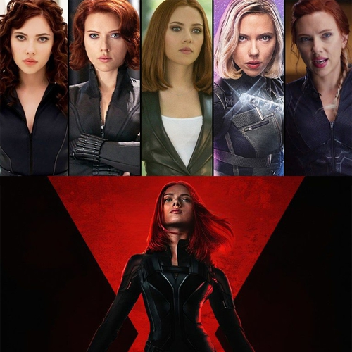 How did Scarlett Johansson get the 'Black Widow' physique?