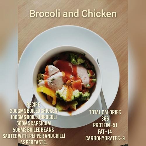 Chicken and Brocoli