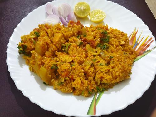 Chicken Lauki Khichdi- Sambhar Masala Twist