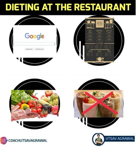 Dieting at a Restaurant