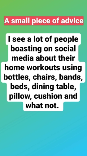 STOP DOING HALF-HEARTED HOME WORKOUTS FOR SOCIAL MEDIA!