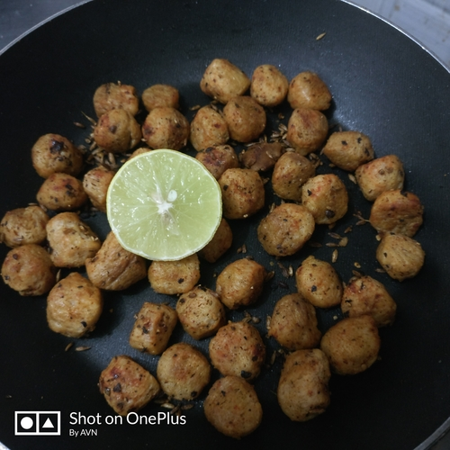 Soya nuggets roast