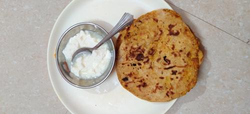 Aloo Paneer Paratha