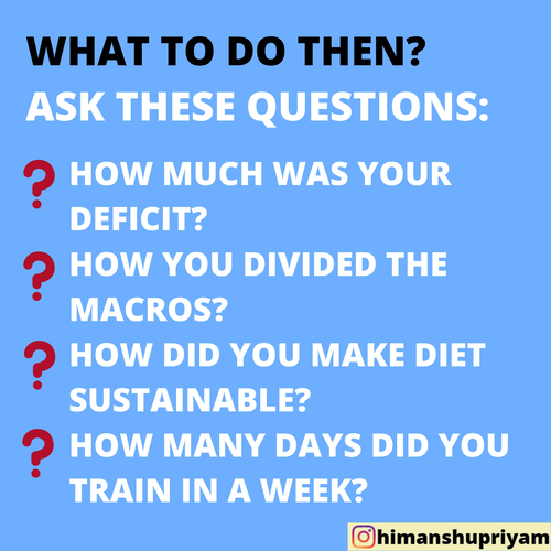 """PLANNING TO """"BORROW"""" YOUR FRIEND'S DIET PLAN? READ THIS FIRST"""