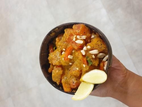 Papaya Jalepeno sweet sour Gravy