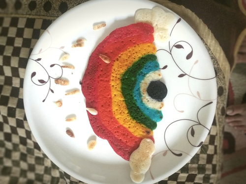 rainbow dosa