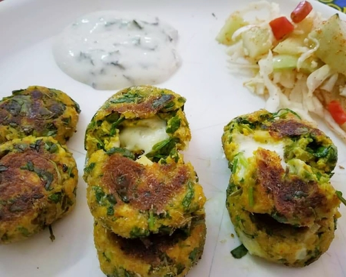 paneer cheesy coins