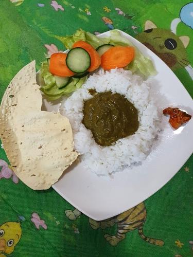 Palak (Spinach) Dal