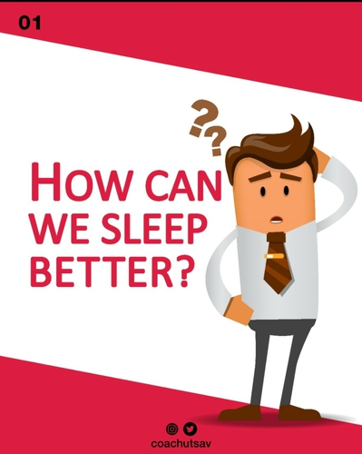 How can we sleep better?