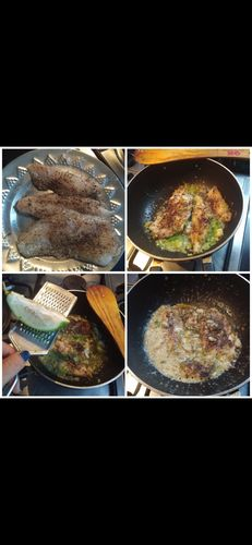 Butter garlic fish