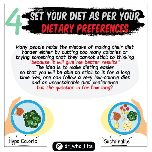 7 Strategies to Improve diet adherance