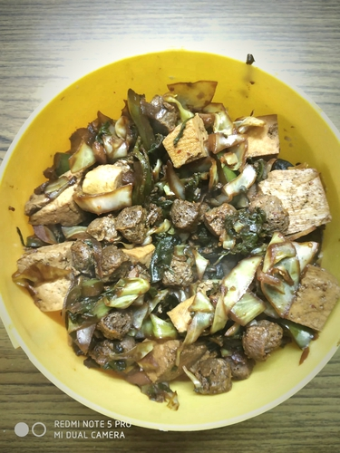 Soya and Tofu Stir Fry