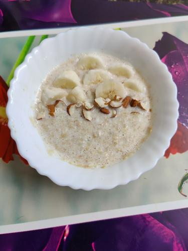 Coconut and banana oats