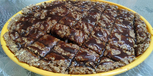 chocolate oats protein bar