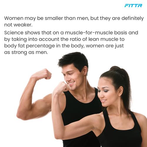 Still Think Woman Are Weaker?