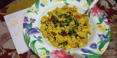chicken egg chatpata