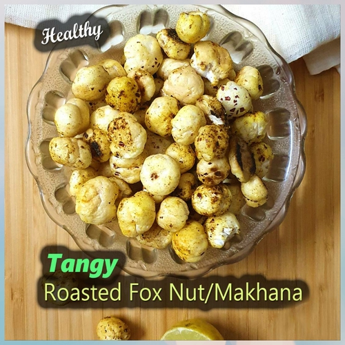 Tangy Roasted Makhana(Lotus seeds)