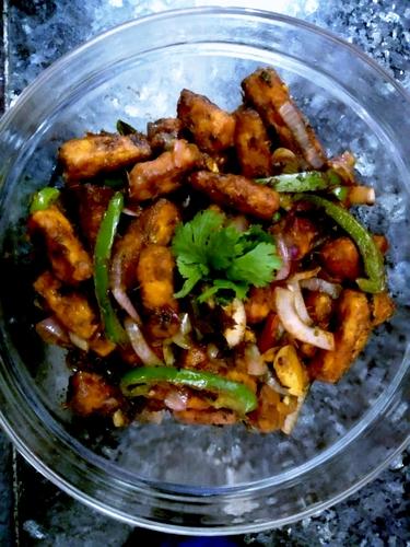 Indian Paneer Stir Fry
