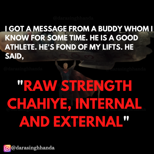 How to increase ' RAW STRENGTH'?