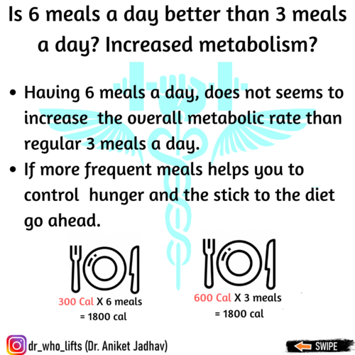 How many meals per day should one eat?