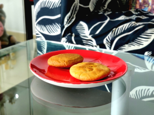 Healthy baked Kachori